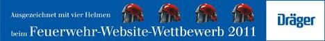 Dräger Feuerwehr Website Award 2011